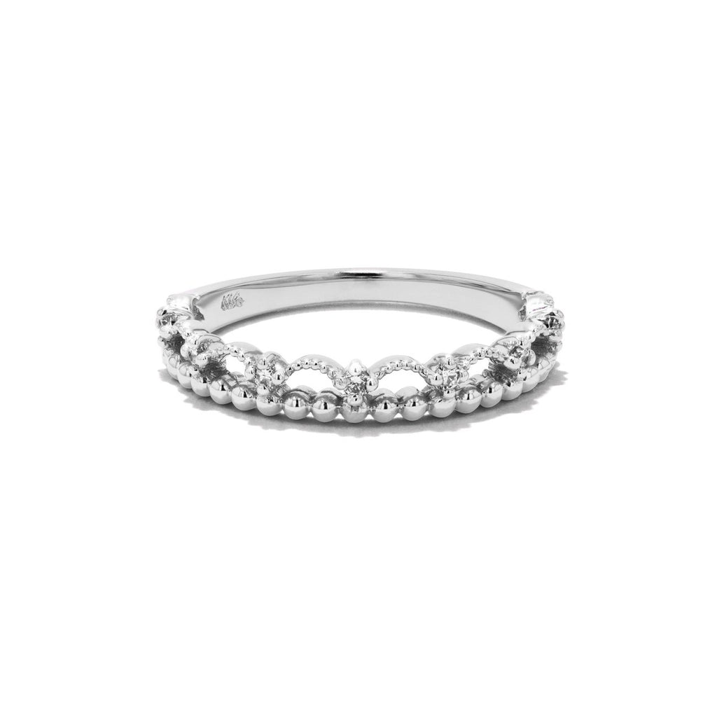 Diamond Lace Ring Ring Princess Bride Diamonds 3 14K White Gold