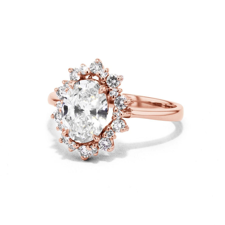 Duchess Oval Engagement Rings Sarah Nicole