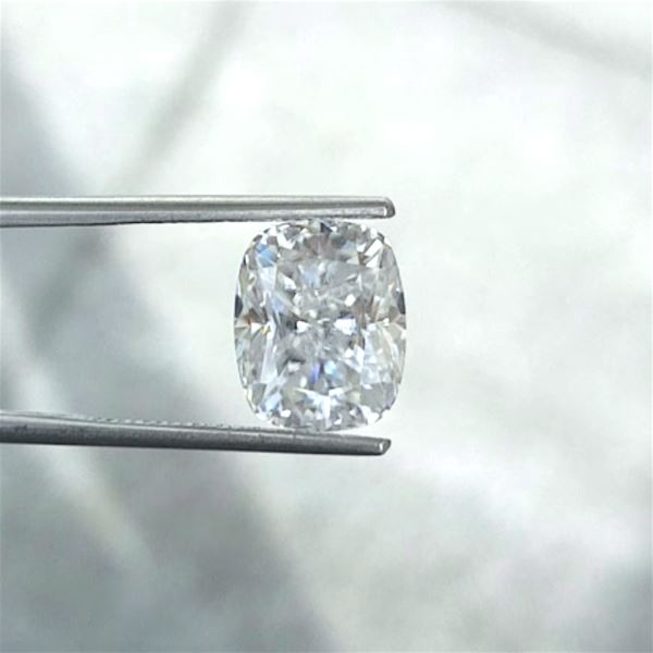 Elongated Cushion Harro Gem Moissanite Harro Gem 7x6mm (1.30ct) Crushed Ice