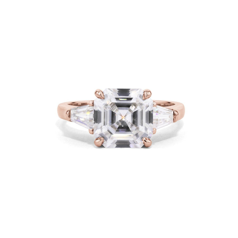 Emma Asscher Engagement Rings Princess Bride Diamonds 3 14K Rose Gold