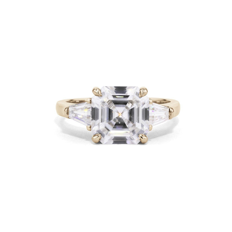 Emma Asscher Engagement Rings Princess Bride Diamonds 3 14K Yellow Gold