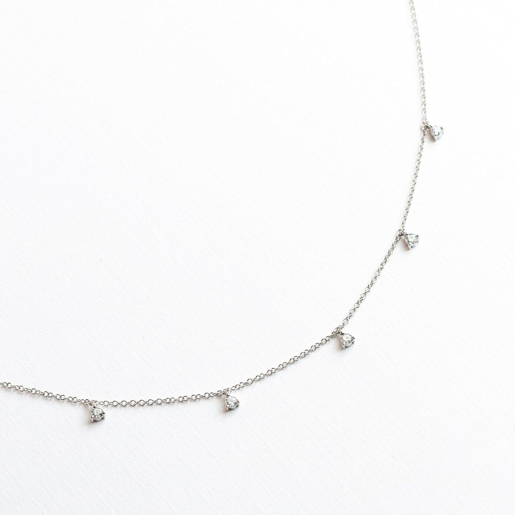 Floating Diamond Necklace Necklaces Princess Bride Diamonds