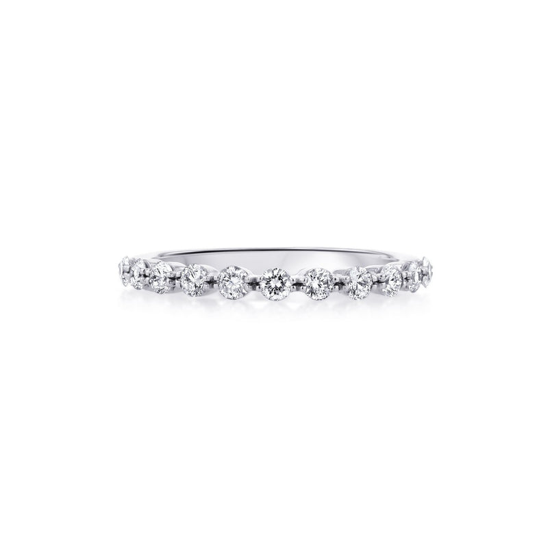 Floating Diamond Ring Ring Princess Bride Diamonds 3 14K White Gold
