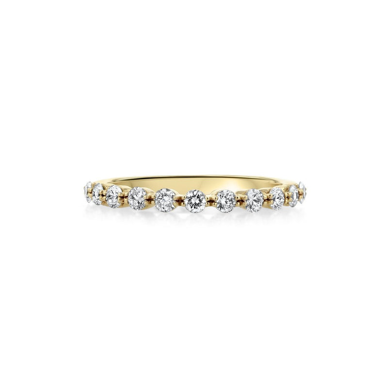 Floating Diamond Ring Ring Princess Bride Diamonds 3 14K Yellow Gold
