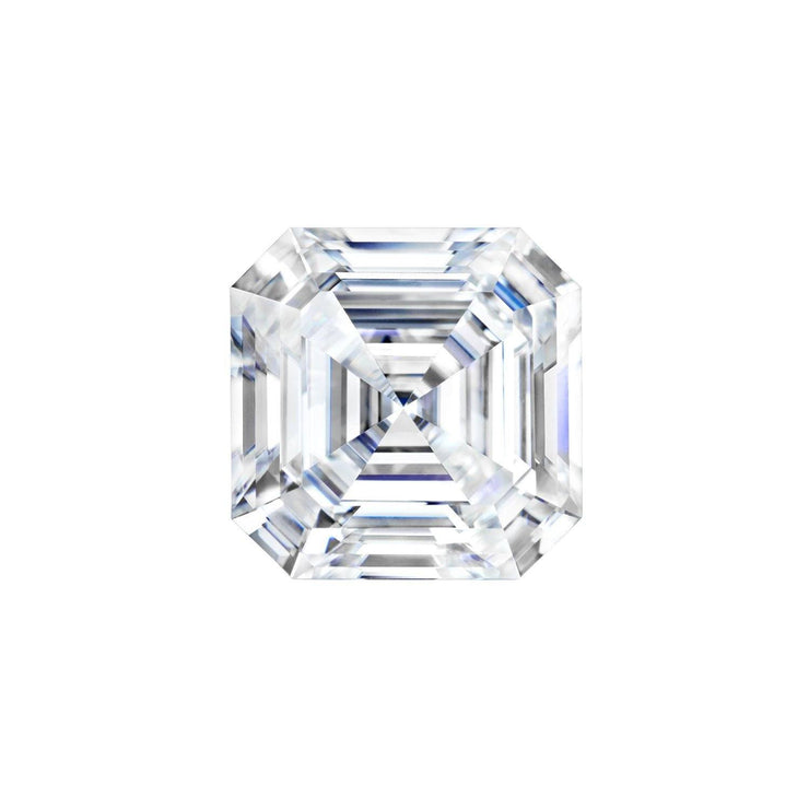 Forever One Asscher Moissanite Gemstone Loose Gemstones Charles & Colvard