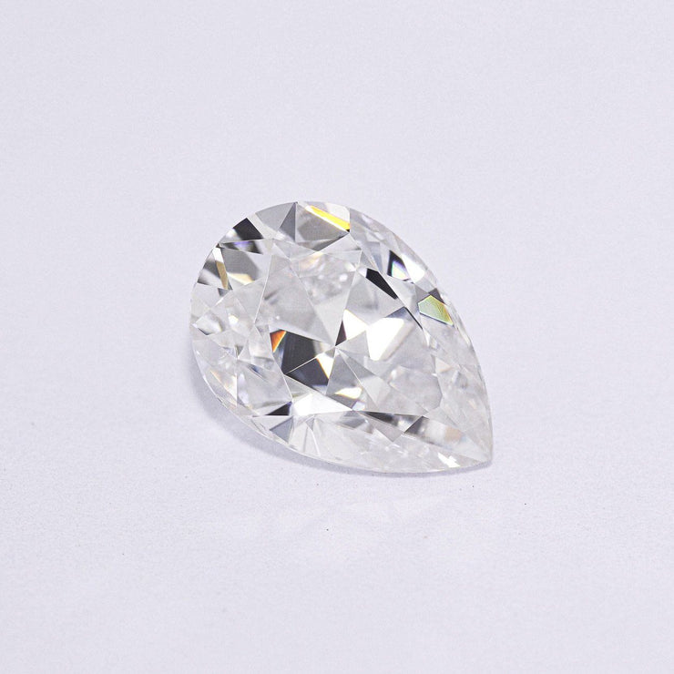 Forever One Pear Moissanite Gemstone Loose Gemstones Charles & Colvard