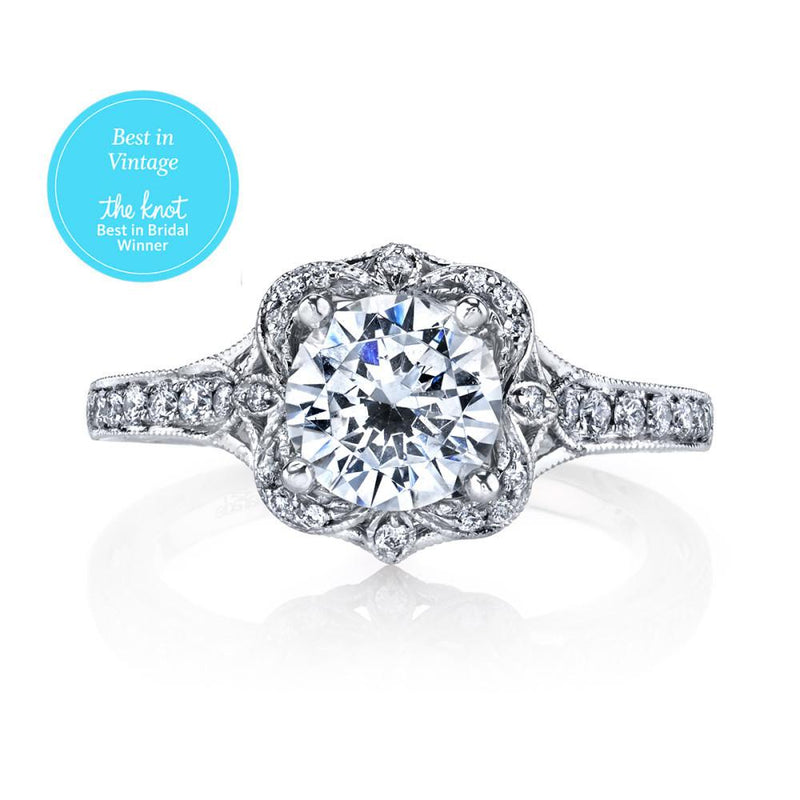 Hera Bridal R3195 Engagement Rings Parade Design
