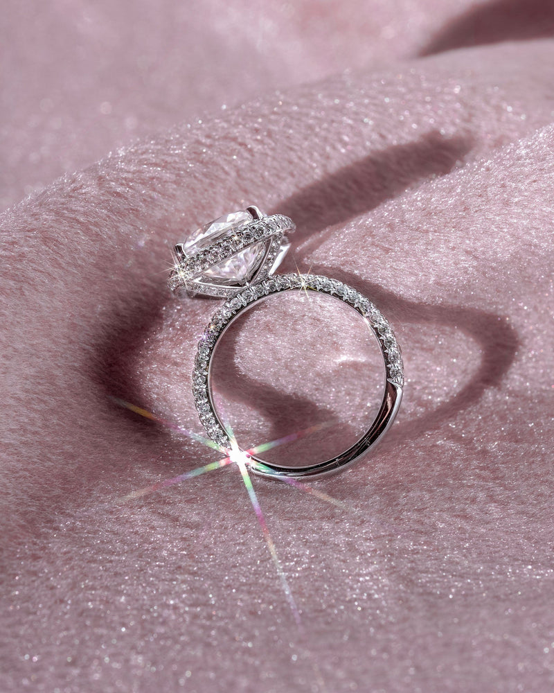 Jessica Cushion Engagement Rings Princess Bride Diamonds