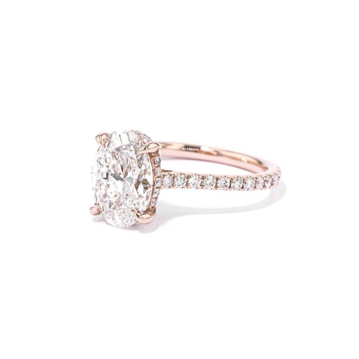Michelle Oval Engagement Rings Princess Bride Diamonds