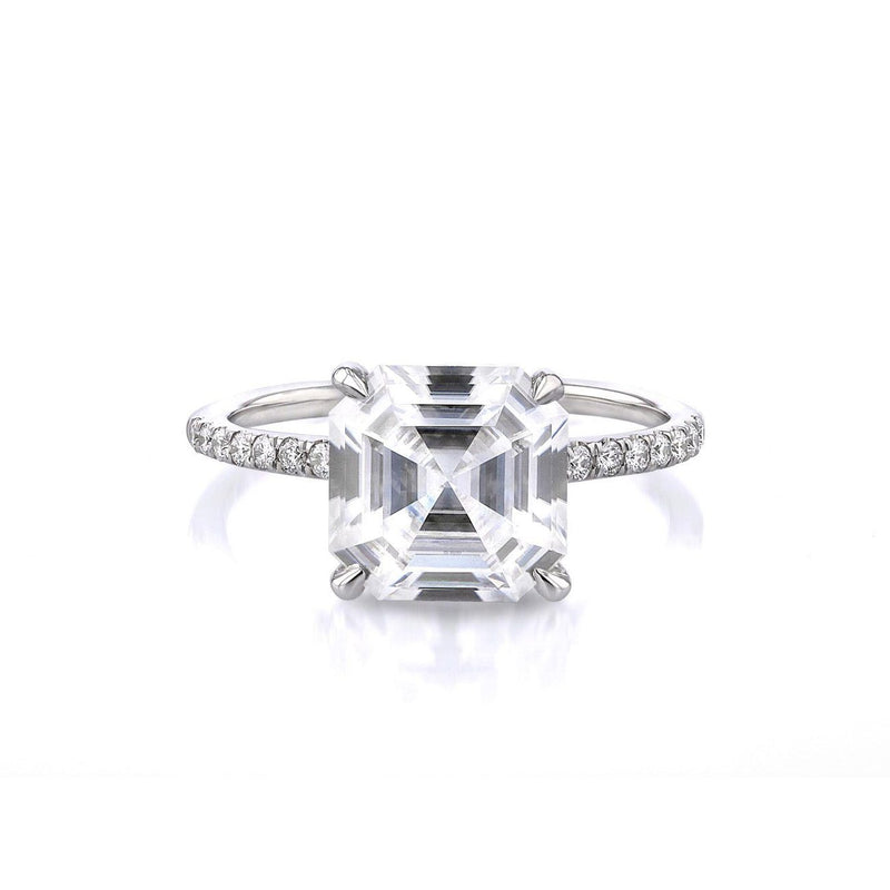Nicole Asscher Engagement Rings Princess Bride Diamonds 3 14K White Gold