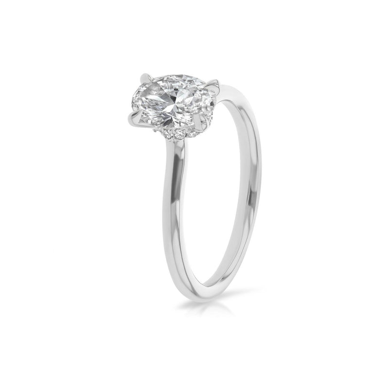 Nicole Oval Solitaire Engagement Rings Princess Bride Diamonds