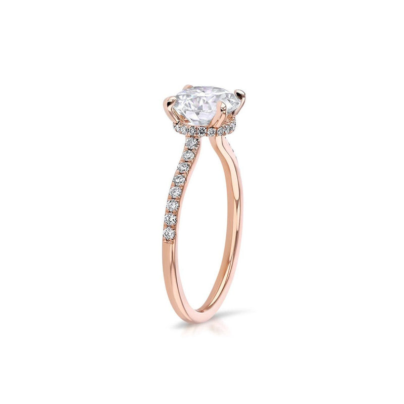 Nicole Round Engagement Rings Princess Bride Diamonds