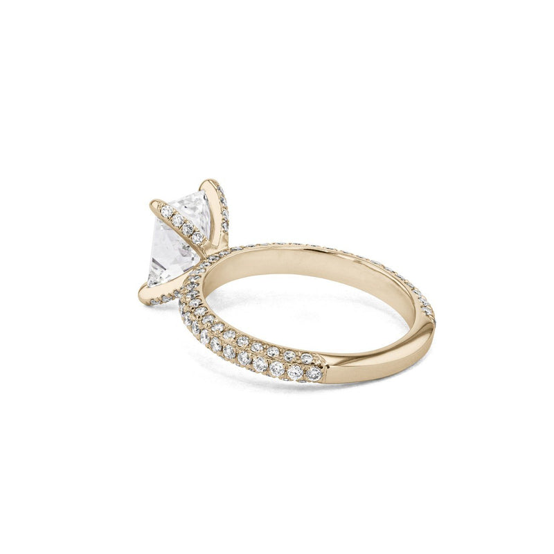 Orion Radiant Engagement Rings Princess Bride Diamonds