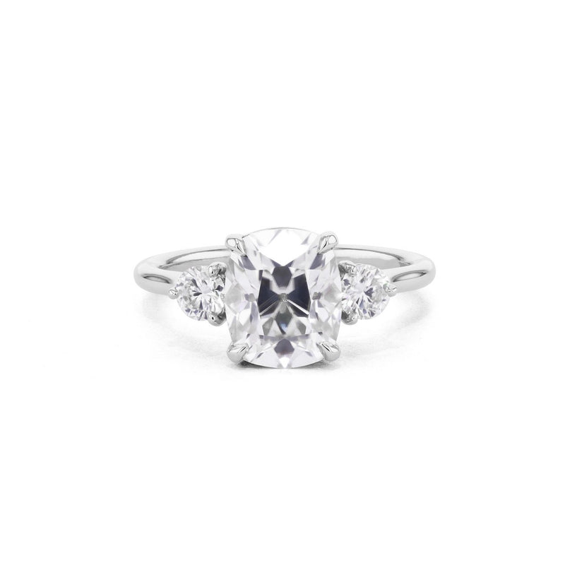 Rachel Cushion Engagement Rings Princess Bride Diamonds 3 14K White Gold