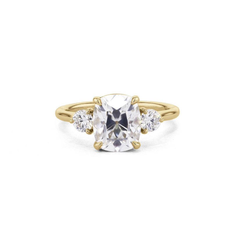 Rachel Cushion Engagement Rings Princess Bride Diamonds 3 14K Yellow Gold