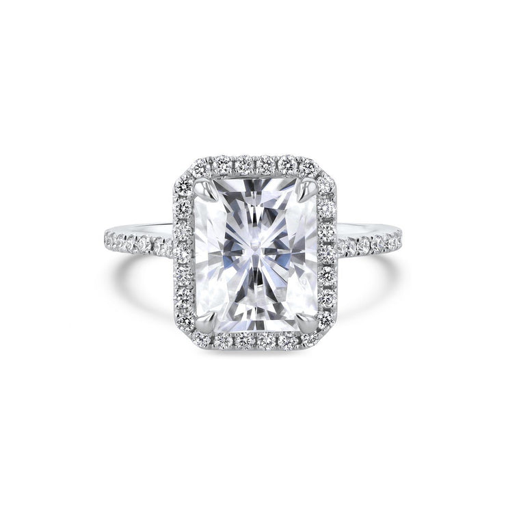 Scarlett Radiant Engagement Ring Engagement Rings Princess Bride Diamonds