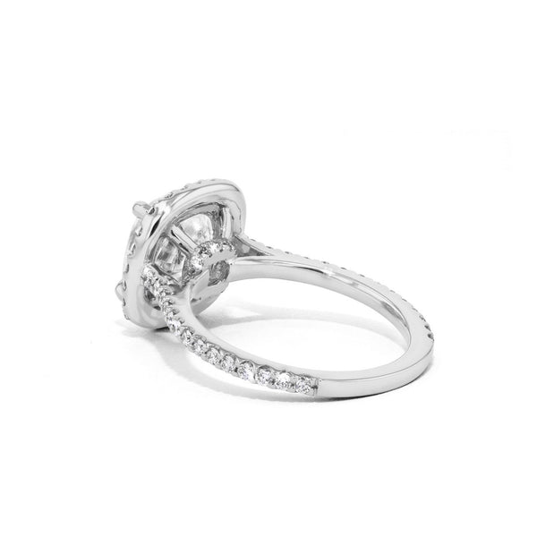 Scarlett Rounded Cushion Engagement Rings Princess Bride Diamonds