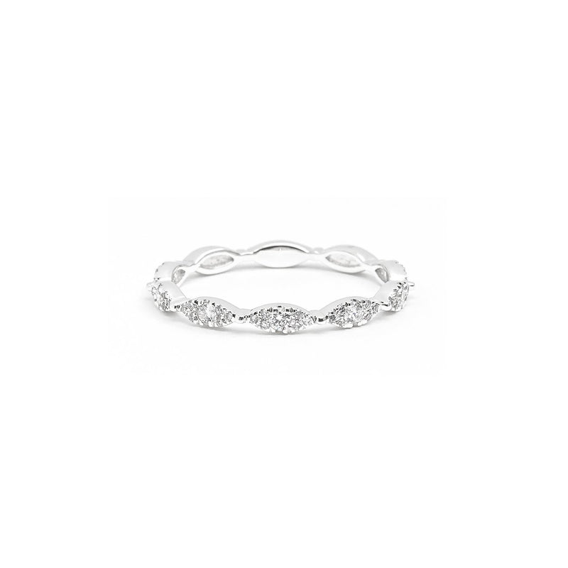 Seamless Marquise Diamond Ring Ring Princess Bride Diamonds 3 14K White Gold