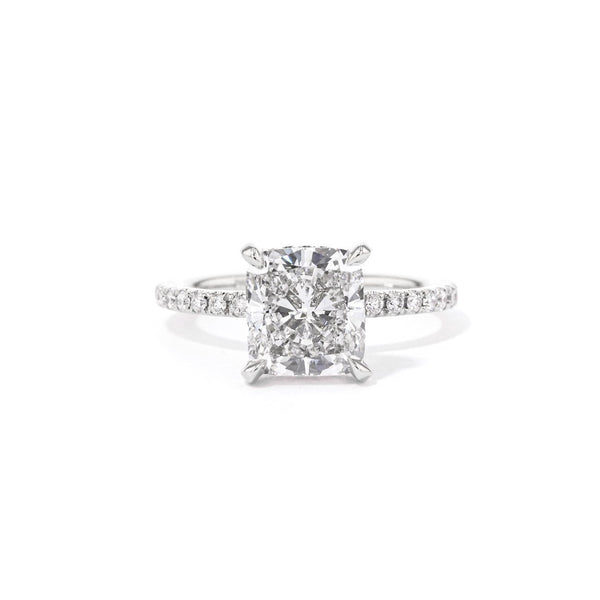 Shelby Cushion 2.0 Engagement Rings Princess Bride Diamonds 3 14K White Gold