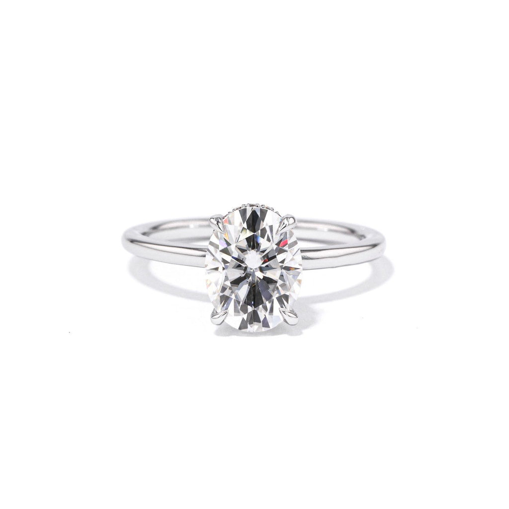 Stephanie Oval Solitaire Engagement Rings Princess Bride Diamonds
