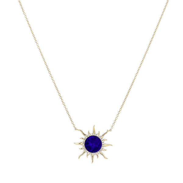 Sun Lapis Necklace Necklaces Princess Bride Diamonds