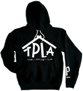 TPLA Hooded Sweatshirt in BLACK