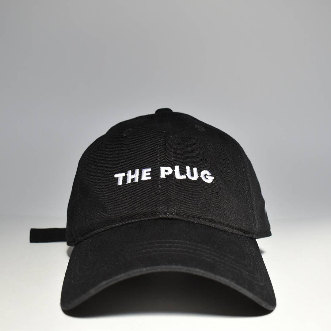THE PLUG DAD HAT in BLACK