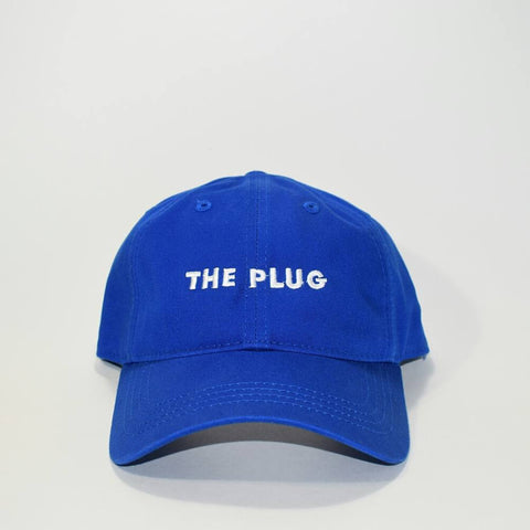 The Plug Dad Hat ROYAL BLUE