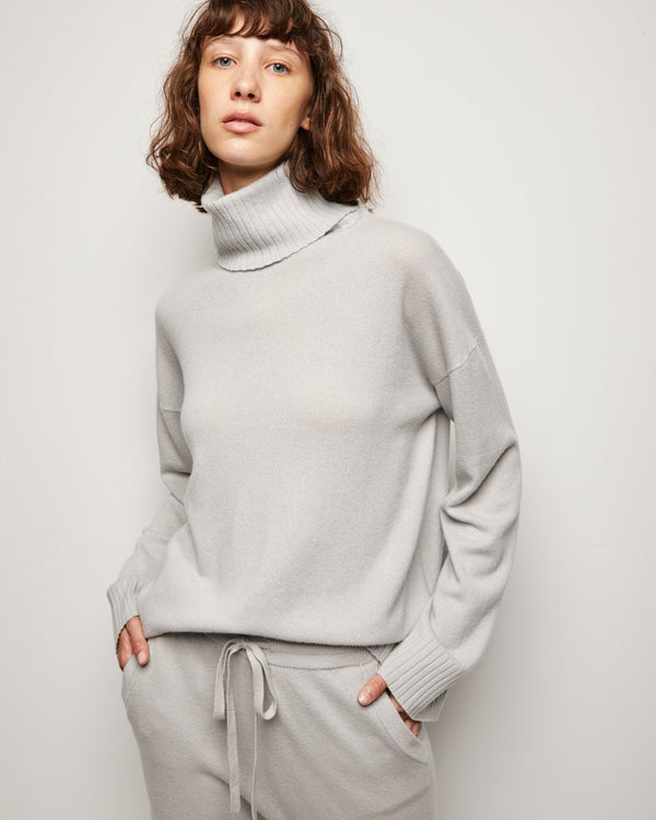 Turtleneck Boyfriend Sweater