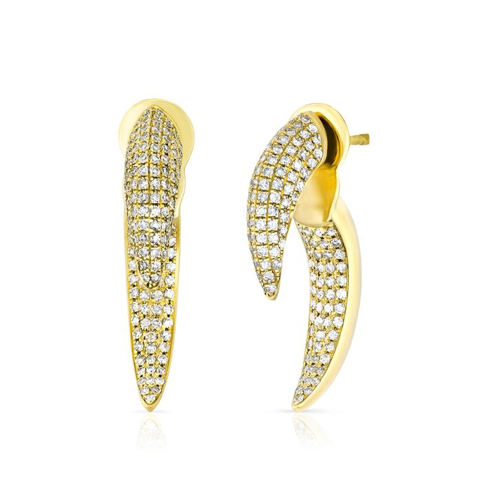 Diamond Sabre Earrings