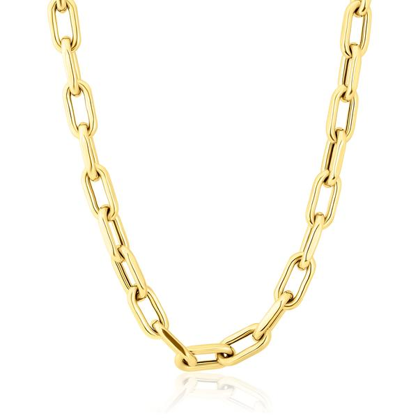 Chain Link Luxe Lillian Necklace 8mm