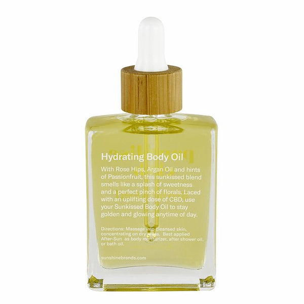 Sunkissed CBD Hydrating Body Oil