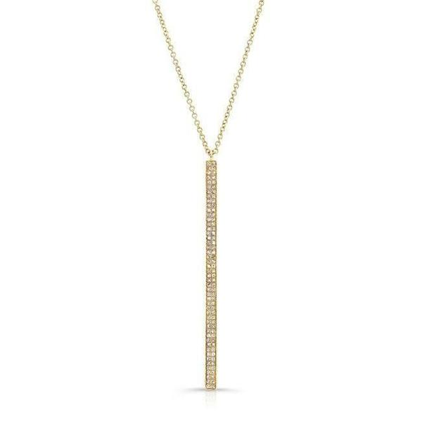 Diamond Beam Necklace