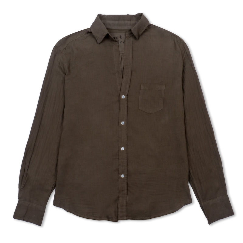 Eileen Woven Button Up