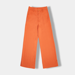 Washed Wide Pant