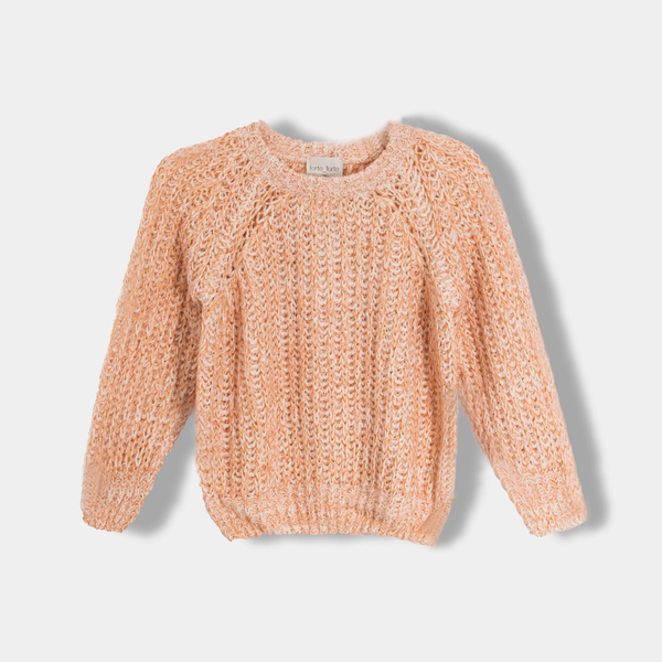 English Knit Round-neck Sweater