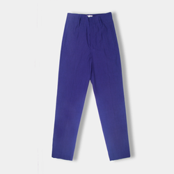 Slubbed Cotton Linen Pants