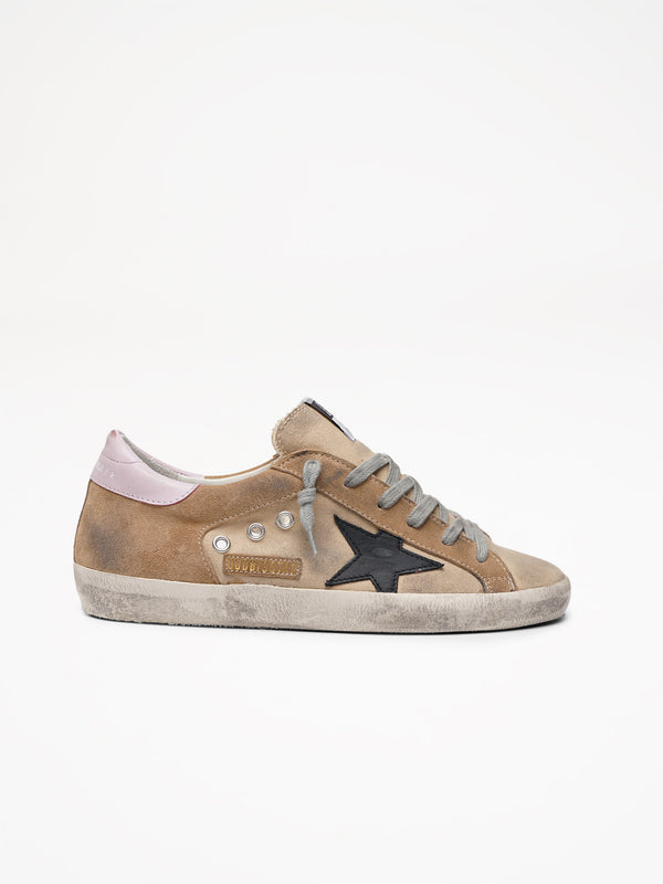 Superstar Sand Canvas Sneakers