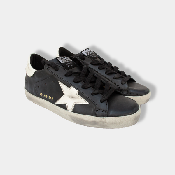 Superstar Leather and Shiny Star Sneakers