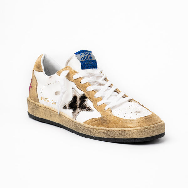 Ball Star Horsey Leopard Sneakers