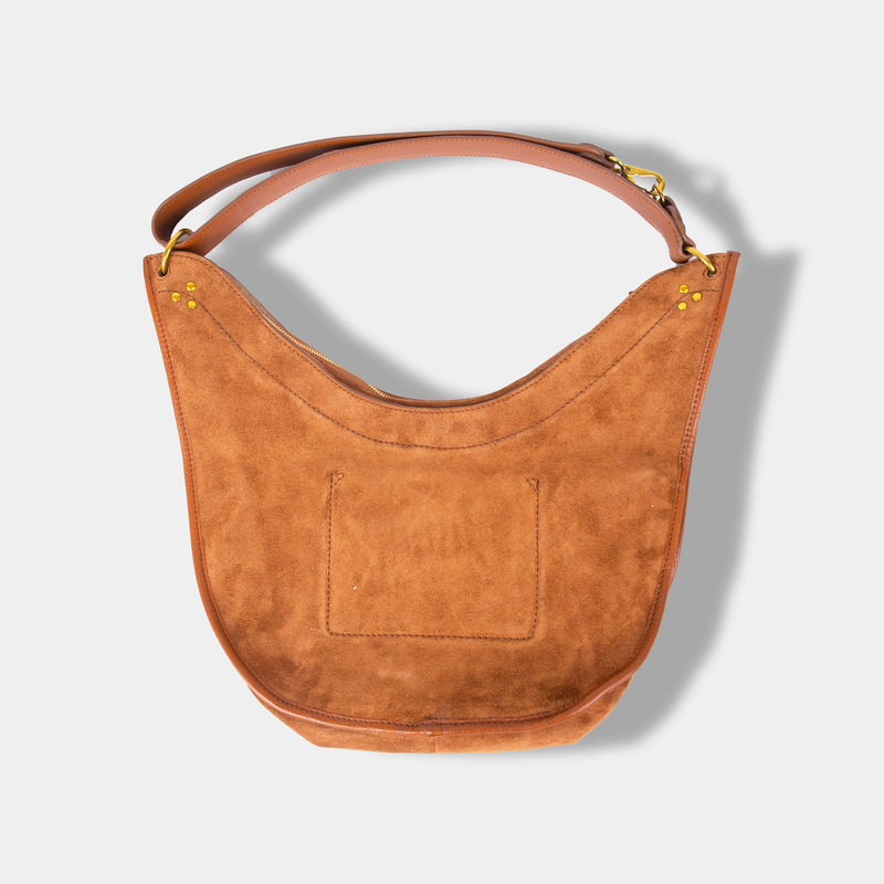Edgar M Split Suede Bag