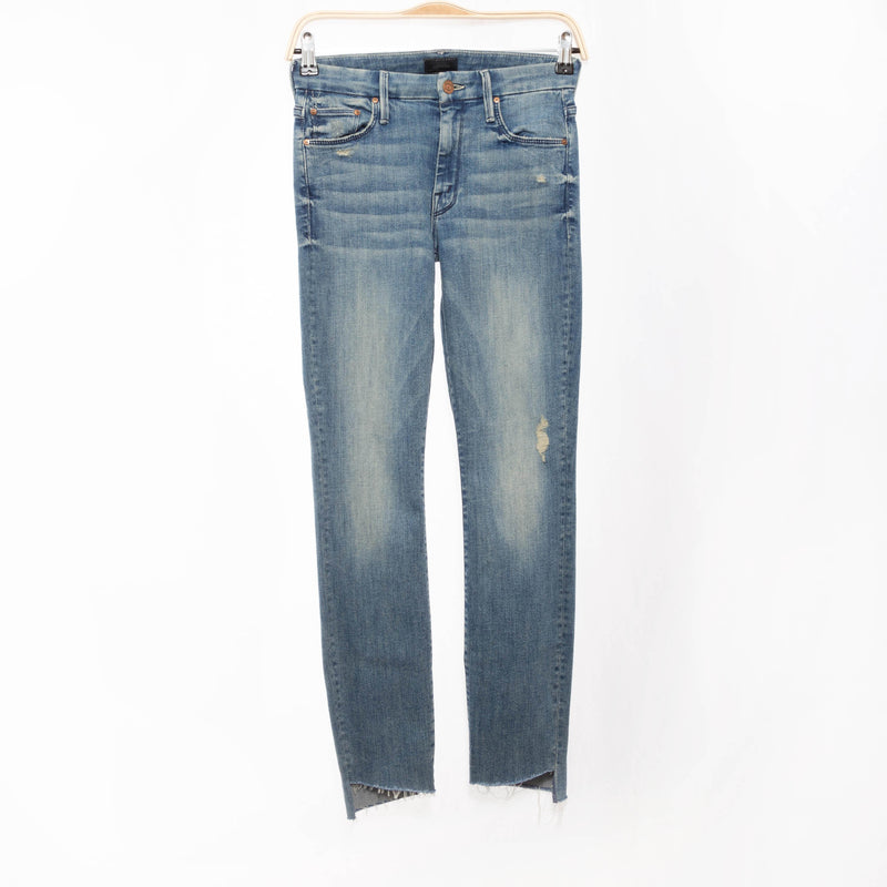 Looker Ankle Step Fray Jean