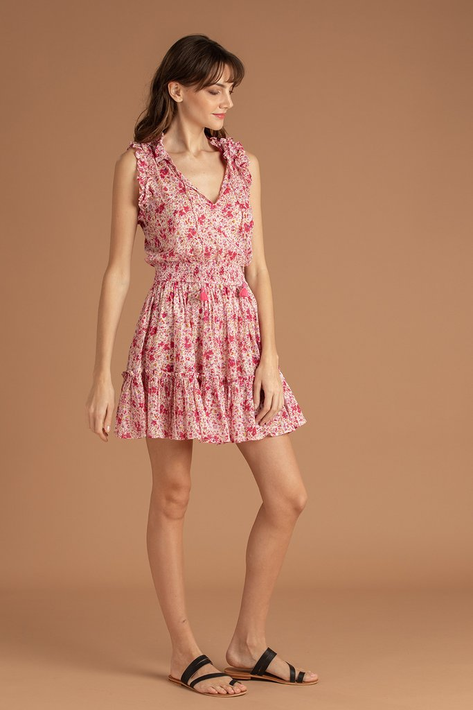 Mini Dress Triny Ruffled Dress