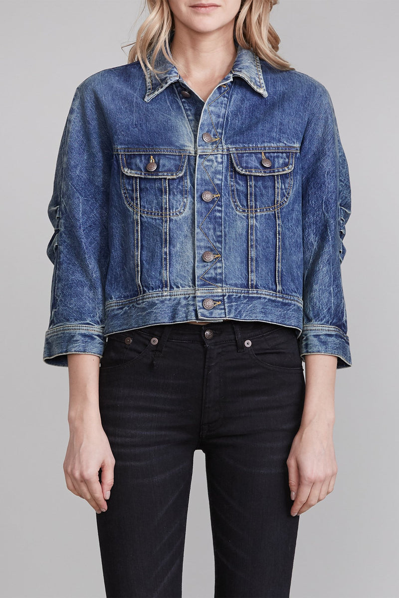 Tanner Shrunken Trucker Jacket