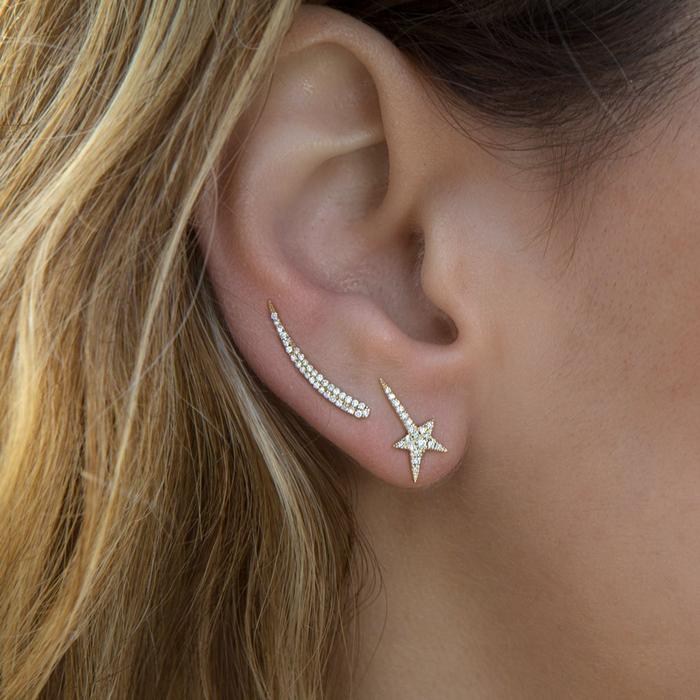 Star Wand Earrings