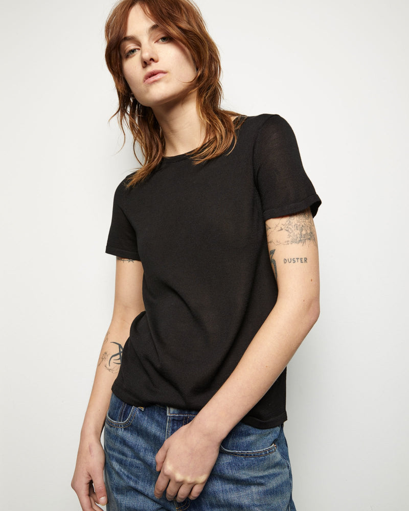 Kimberly Short Sleeve Sweater