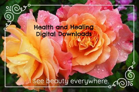 Health and Healing Digital Ebooks