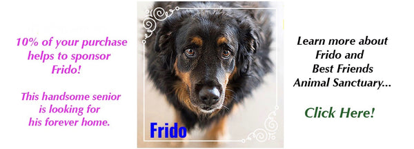 Frido, Best Friends Animal Sanctuary, Kanab UT