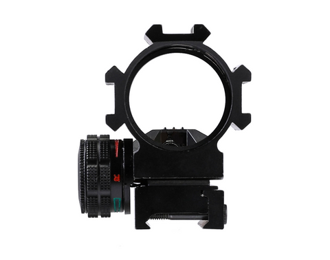 4-16x50 Illuminated Reticle Scope Package with Red/Green Dot Holographic Sight and Green Laser HRS-4165-0G