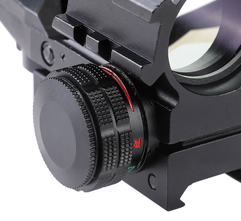 Image of 4-16x50 Illuminated Reticle Scope Package with Red/Green Dot Holographic Sight and Green Laser HRS-4165-0G